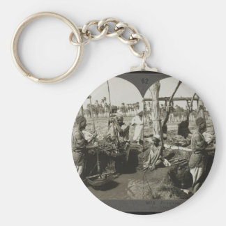 Lifting Water out of the Nile in Egypt circa 1928 Keychains