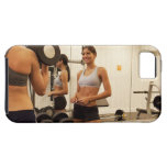 Lifting weights in the gym iPhone 5 covers