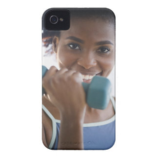 Lifting Weights iPhone 4 Case-Mate Cases