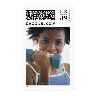 Lifting Weights Stamps