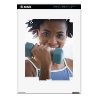 Lifting Weights Decal For iPad 3