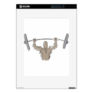 Lifting Weights Skins For The iPad