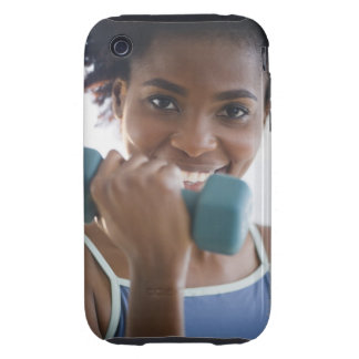 Lifting Weights Tough iPhone 3 Covers