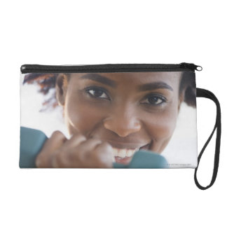 Lifting Weights Wristlet Purse