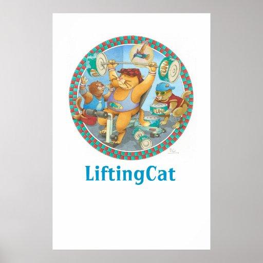 LiftingCat Print