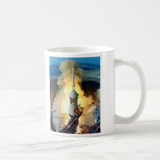 Liftoff of the Apollo 11 Saturn V Space Vehicle Classic White Coffee Mug