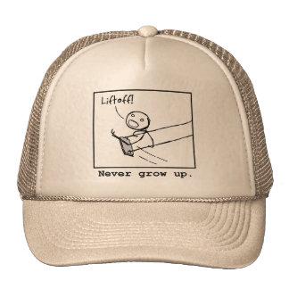 Liftoff! trucker hat