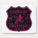 Liga 1983 de la diva de la dermatología alfombrillas de raton