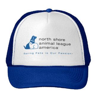 Liga animal de la orilla del norte calificada gorro