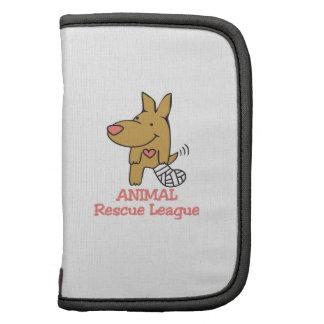 Liga animal del rescate organizador
