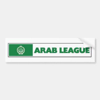 Liga árabe pegatina para auto