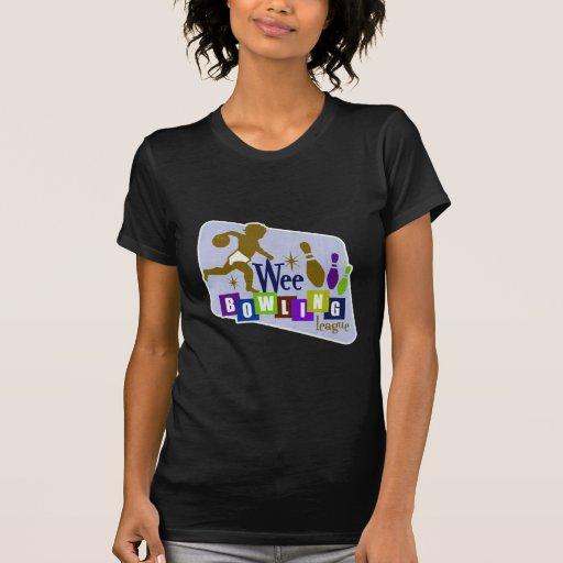 Liga de bolos pequenita camiseta