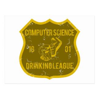 Liga de consumición de informática postal