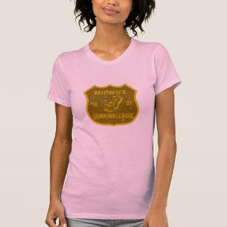 Liga de consumición de la partera camiseta