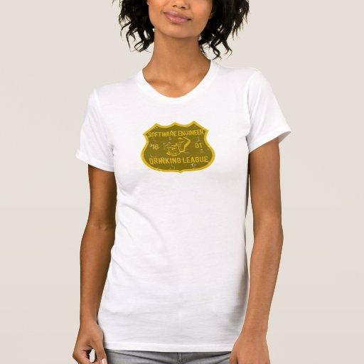 Liga de consumición de la Software Engineer Camisetas