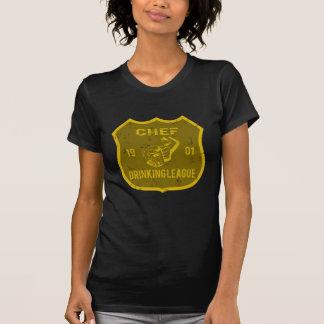 Liga de consumición del cocinero t shirts
