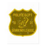 Liga de consumición del departamento de la policía postal