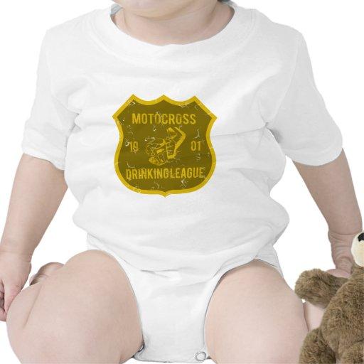 Liga de consumición del motocrós trajes de bebé