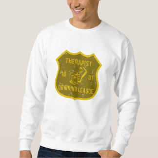 Liga de consumición del terapeuta suéter