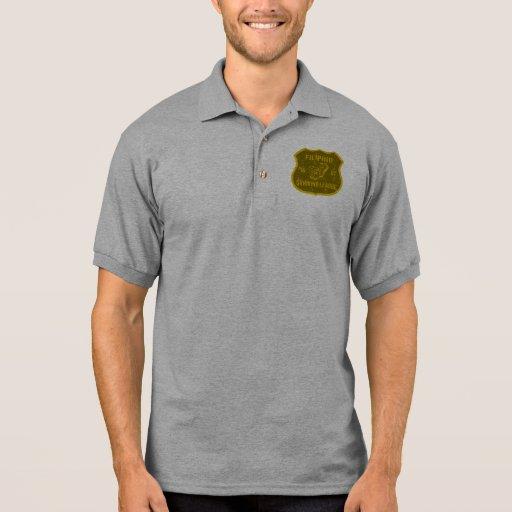 Liga de consumición filipina camisetas polos