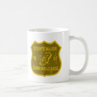 Liga de consumición importante de la ciencia taza de café