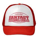 Liga de fútbol de la fantasía gorras