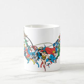 Liga de justicia del grupo 2 de América Tazas De Café