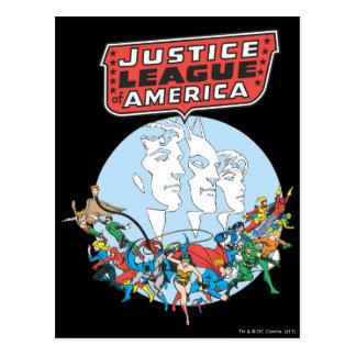 Liga de justicia del grupo de América Postal