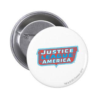 Liga de justicia del logotipo de América Pin