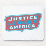 Liga de justicia del logotipo de América Tapete De Ratón