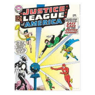 Liga de justicia del problema #12 - junio de Améri Postal