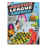 Liga de justicia del problema #1 - nov de América Postal