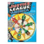 Liga de justicia del problema #6 - sept. de Améric Felicitacion