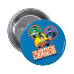 """Liga de justicia """"fuerza en números """" pins"""