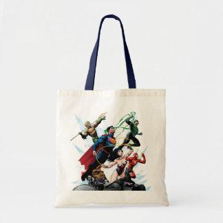 Liga de justicia - grupo 1 bolsa tela barata