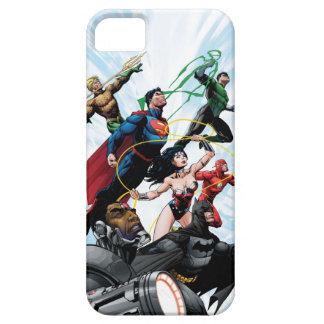 Liga de justicia - grupo 1 iPhone 5 protectores
