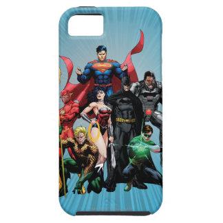 Liga de justicia - grupo 2 iPhone 5 Case-Mate carcasa