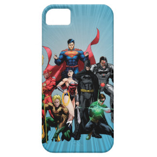 Liga de justicia - grupo 2 iPhone 5 Case-Mate carcasas