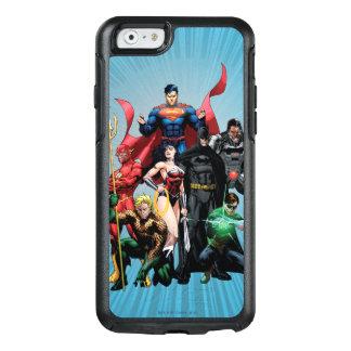 Liga de justicia - grupo 2 funda otterbox para iPhone 6/6s