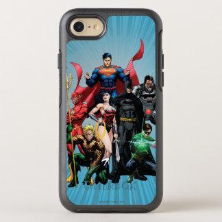 Liga de justicia - grupo 2 funda OtterBox symmetry para iPhone 7