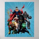Liga de justicia - grupo 2 posters