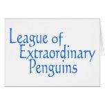 Liga de los pingüinos extraordinarios 3 felicitacion