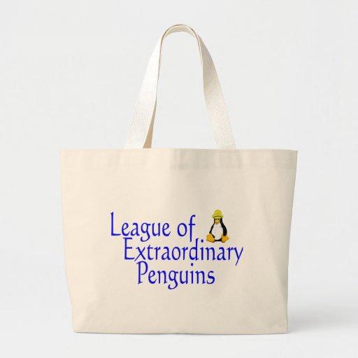 Liga de los pingüinos extraordinarios 4 bolsa