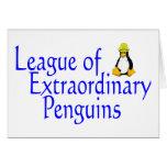 Liga de los pingüinos extraordinarios 4 felicitación