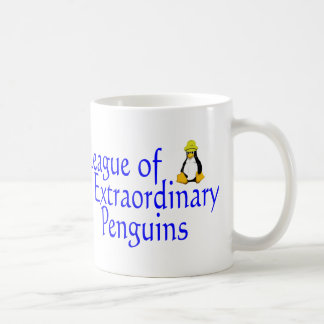Liga de los pingüinos extraordinarios 4 taza