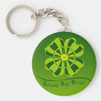 Liga del dardo de Galway Llavero Redondo Tipo Pin