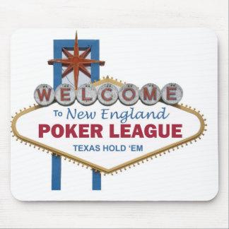 Liga Mousepad del póker de Nueva Inglaterra