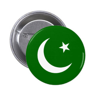 Liga musulmán de Paquistán, bandera de Colombia Pin Redondo De 2 Pulgadas