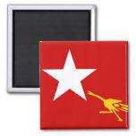Liga nacional para la democracia, bandera de Myanm Iman De Frigorífico