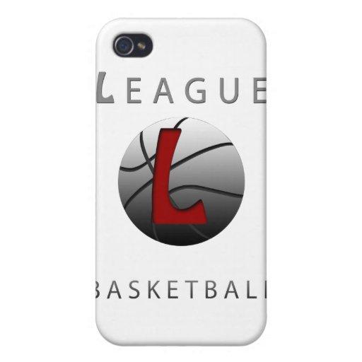 Liga para el caso del iPhone del baloncesto iPhone 4/4S Carcasas